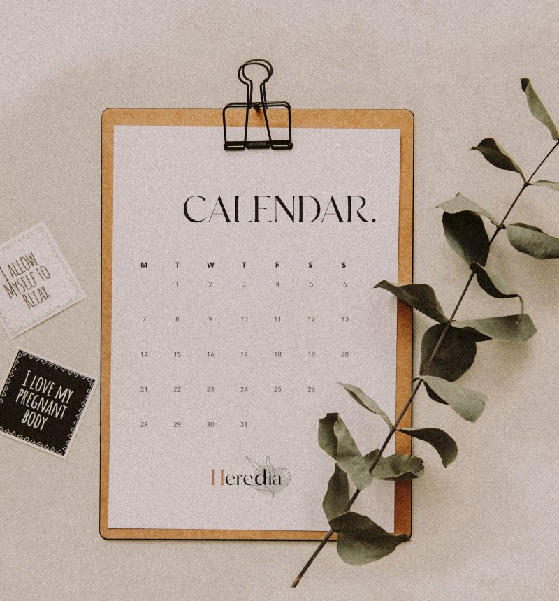 calendar htg